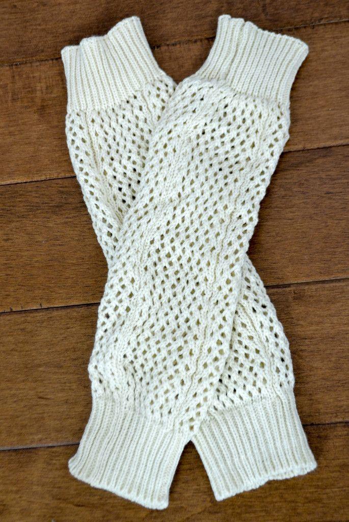 Winter Snowflake Knee High Leg Warmers ((NEW)) | Punto de crochet ...