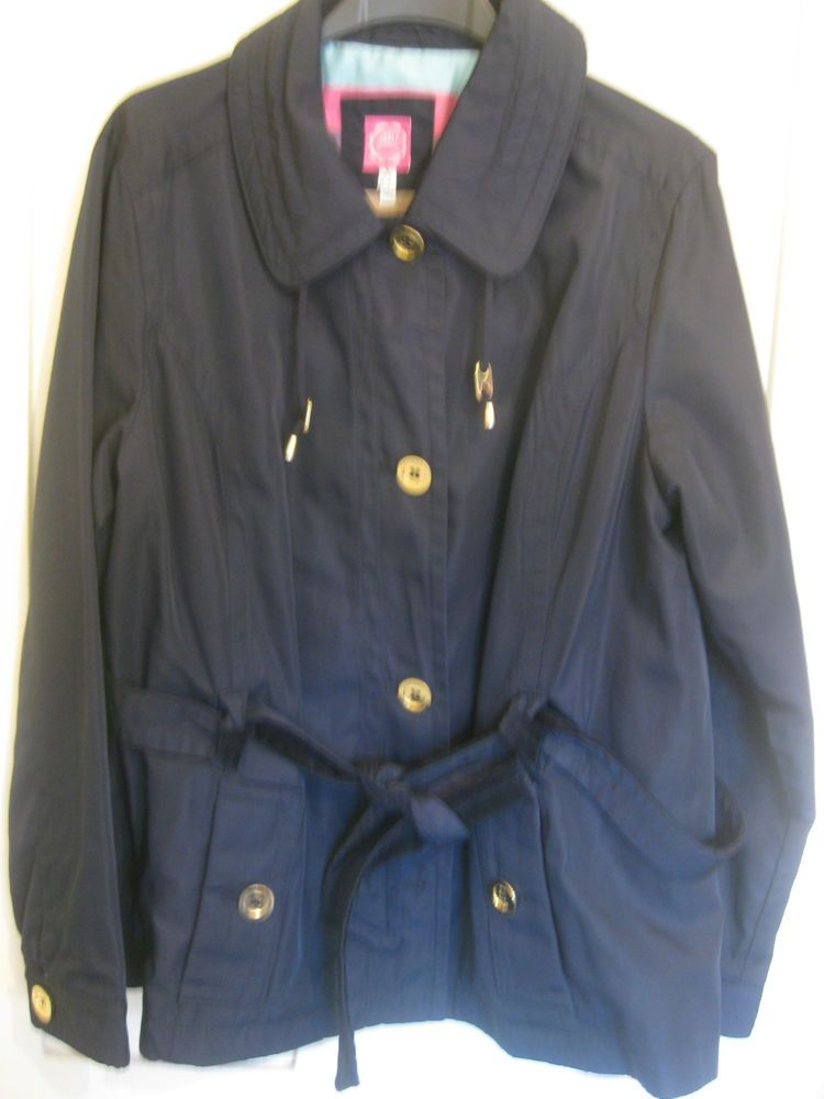 Tom Joule JOULES clothing  Waterproof Hooded Jacket in navy style CELANDINE