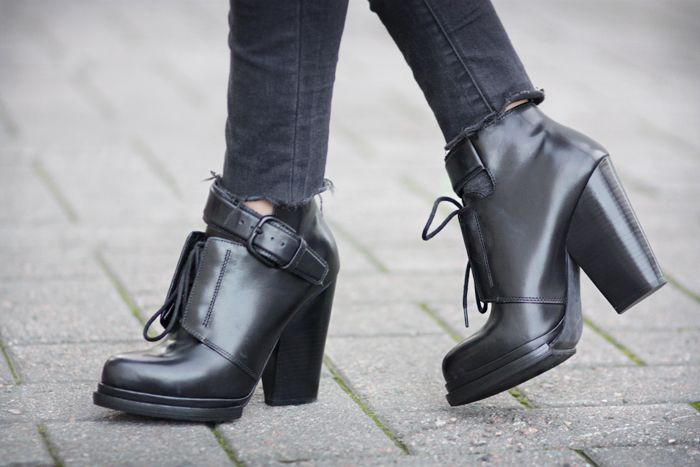 Alexander Wang / Luca Leather Boots