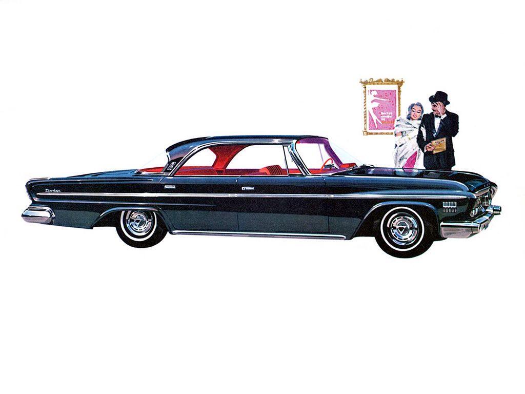 1962 dodge custom 880 4 door hardtop