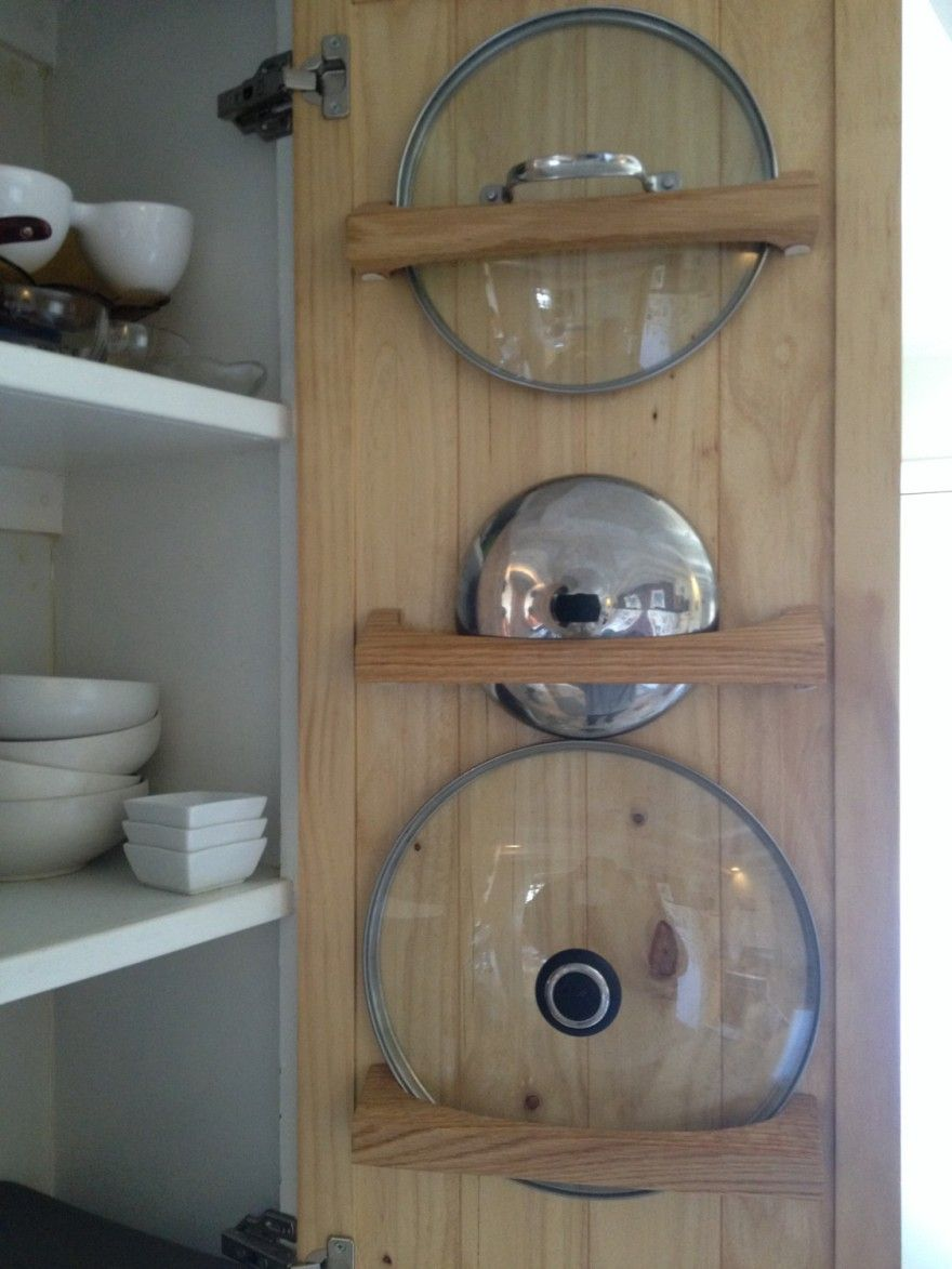 Pin By Nicholas Mason On Kitchen Decor Ideas Pot Lid Storage