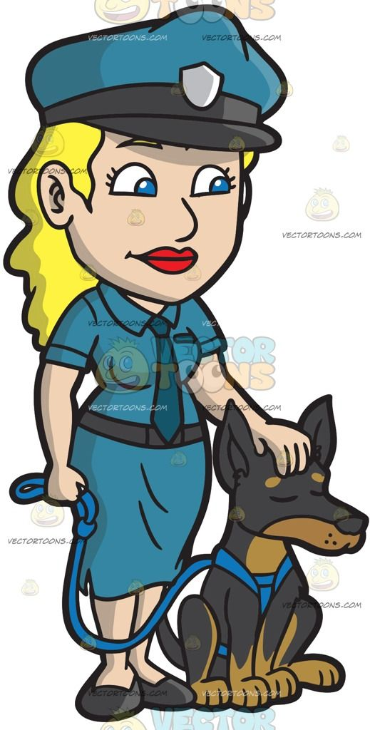 A Female Police Officer Petting Her Dog Police Women Female Police Officers She Dog