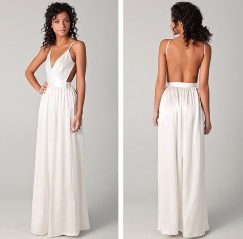 SUMMER STAPLE. AMAZING BACKLESS DRESS | Someday. | Pinterest ...