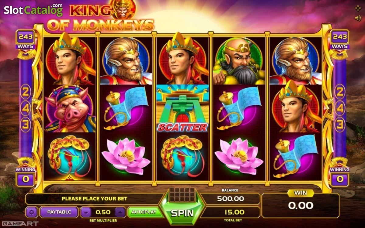 Spiele King Of Monkeys - Video Slots Online
