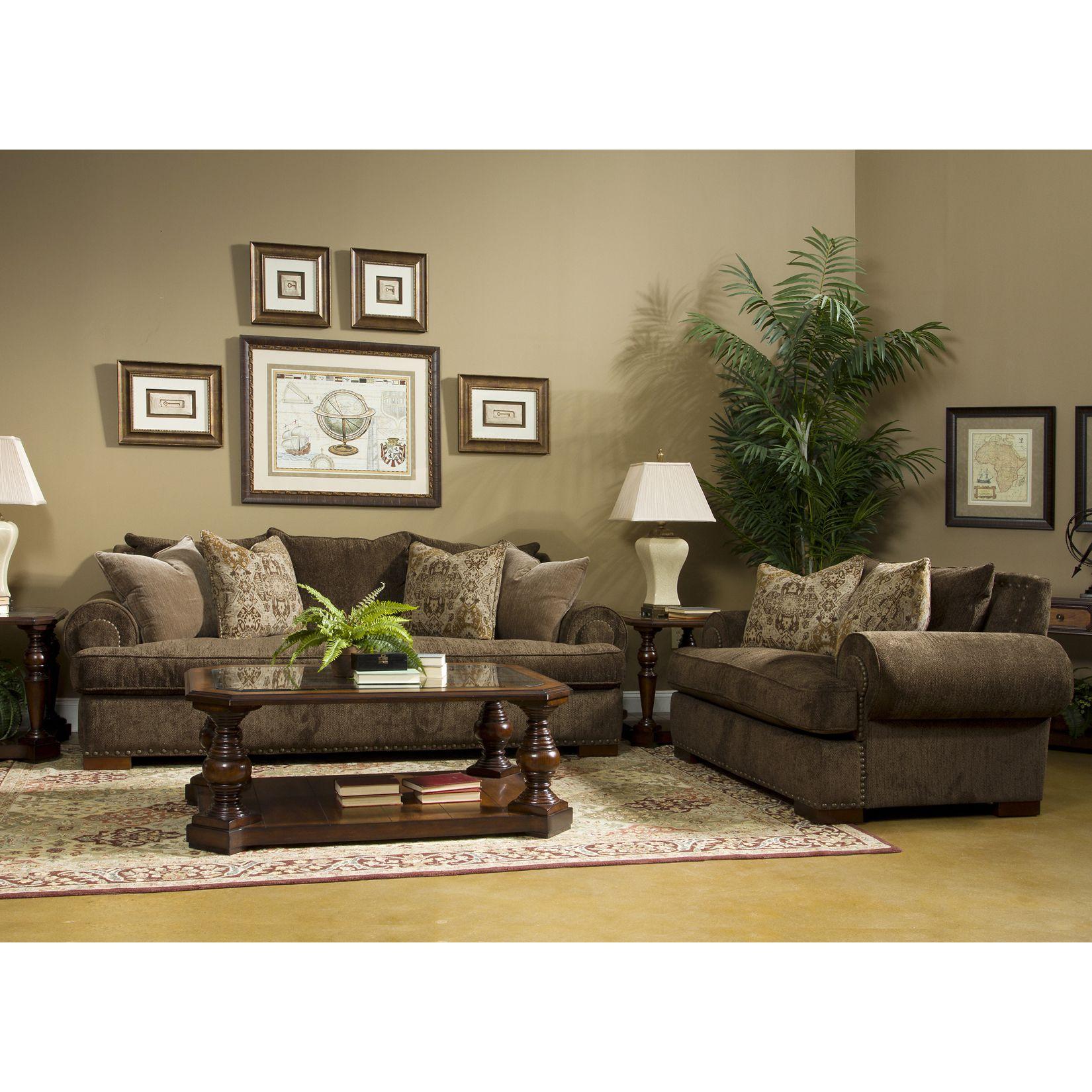 Fairmont designs made to order regency piece sofa set pc brown