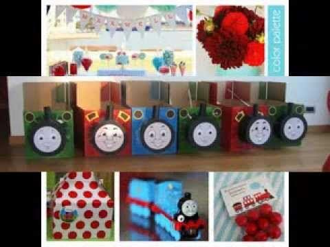 Thomas the train party ideas & Thomas \u0026 Friends Birthday Party: DIY Decorations (2) | PBS Parents ...