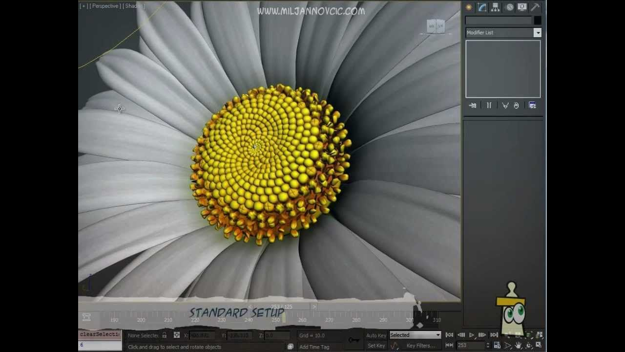 3ds Max Rigging Flower Rig 3ds Max Rigs Flowers