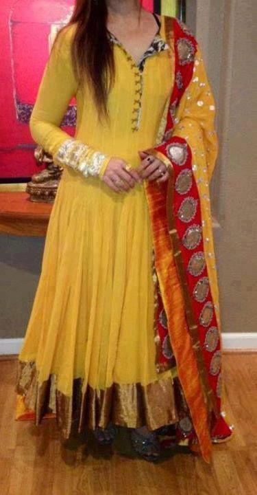 Mehndi Designs Jans : Best mehndi dresses designs collection for girls