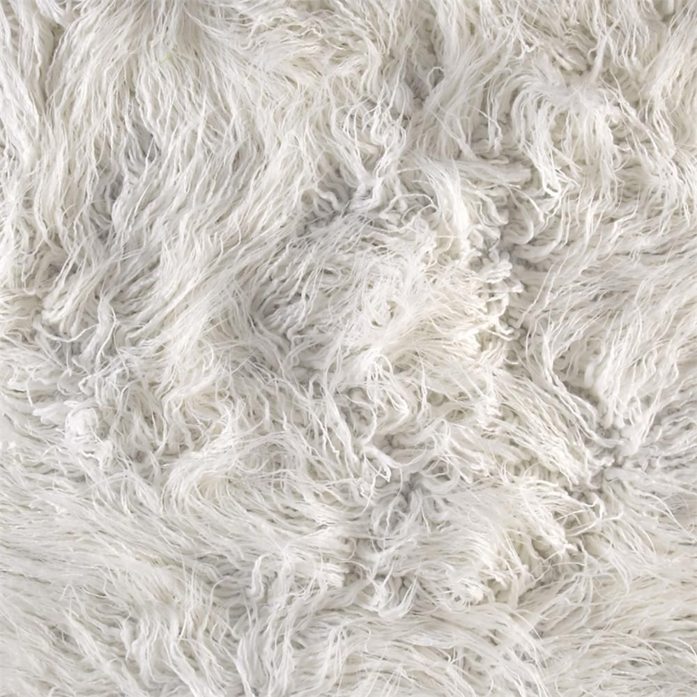 Luxury Faux Fur Curly Yak White White Fabric Texture Faux Fur Faux Fur Fabric