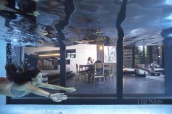 Entertainers Kitchen Even Has Underwater Pool Views
