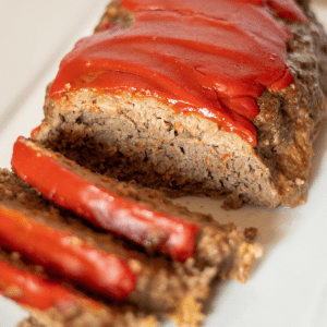 This Keto Southern style meatloaf is a low carb version of the classic comfort food. It has all the flavor that you would expect in this southern staple, with none of the carbs!