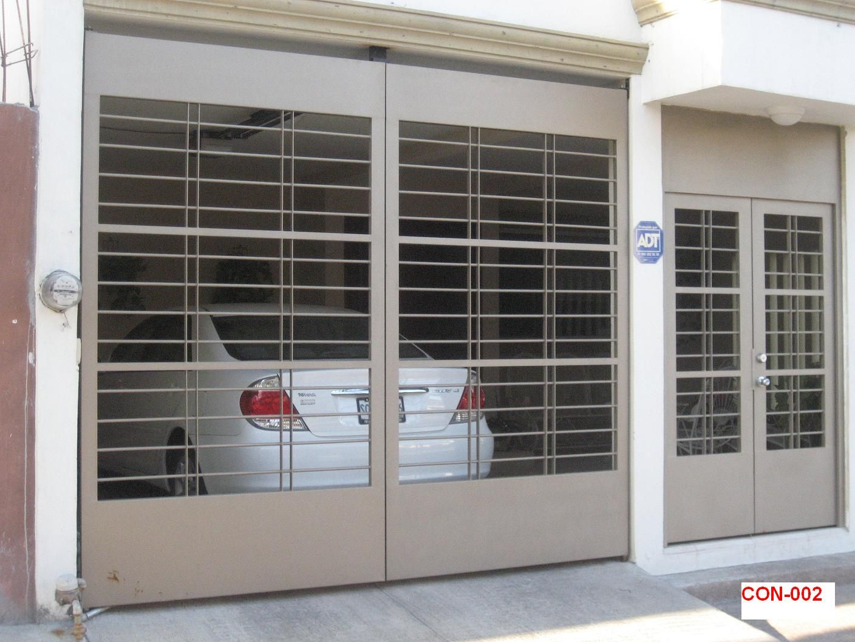 Port n herreria portones puertas electricas puertas - Puertas para cocheras electricas ...