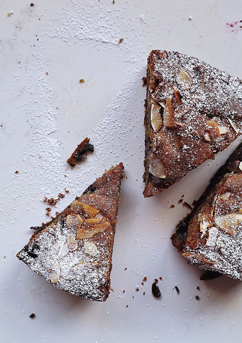 Blueberry Coconut Almond Cake Buttermilk Pantry In 2020 Almond Cakes Coconut Almond Tea Cakes