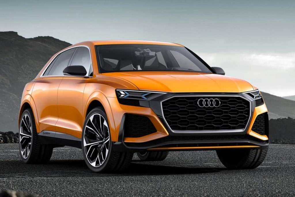 2017 Audi Q8 Sport Concept Audi Audi Suv Luxury Suv