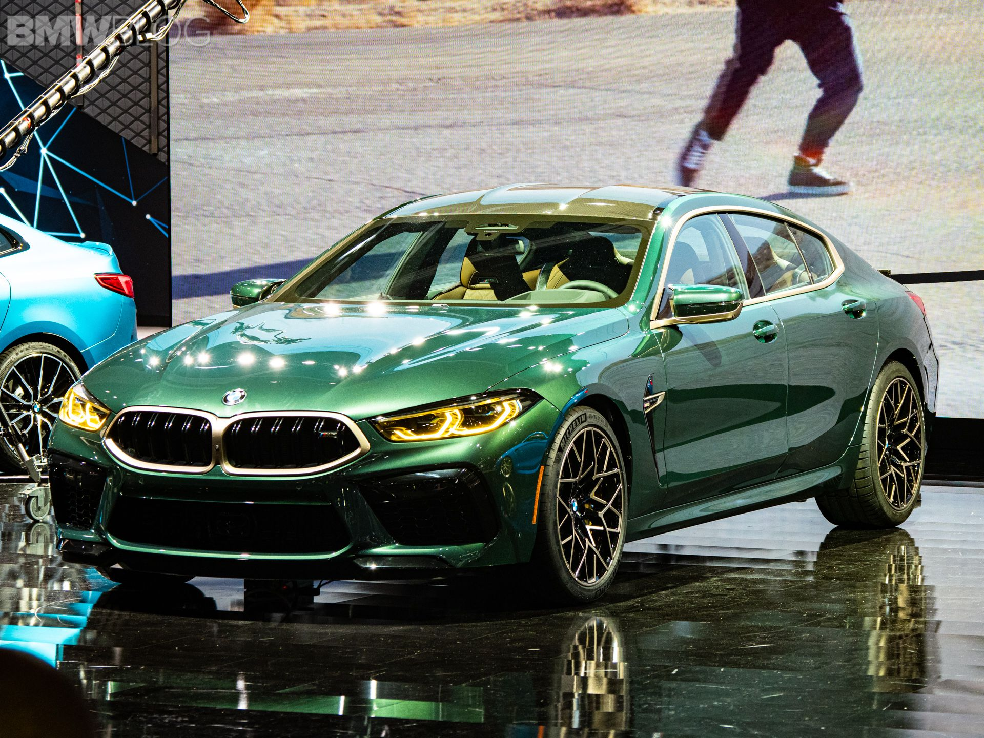 3840x2400 2020 Bmw M8 Gran Coupe First Edition Green Car