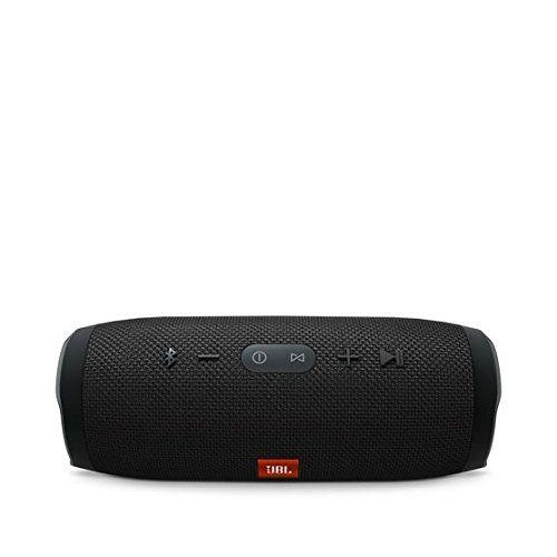 Jbl Charge 3 Waterproof Portable Bluetooth Speaker (Black) [Speakers