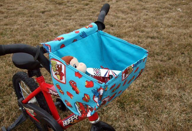 bike basket tutorial fahrradkorb kinder n hen und f r. Black Bedroom Furniture Sets. Home Design Ideas
