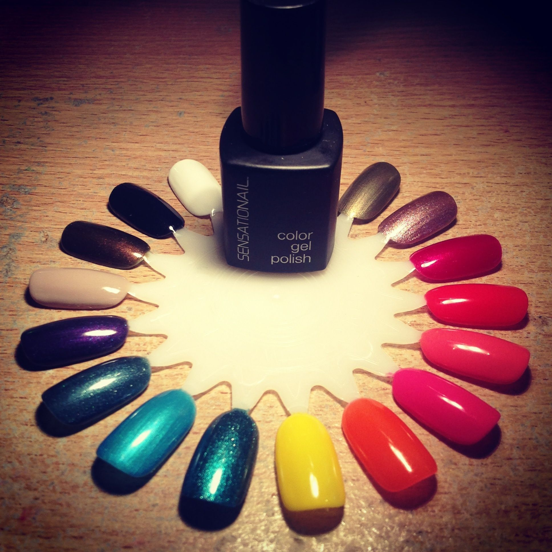 Beautiful sensationail gel polish colors sensationailgel sensationail gel nail polish up to 2 weeks of dazzling damage proof nails do it yourself manicure from home the at home diy gel polish brand solutioingenieria Images