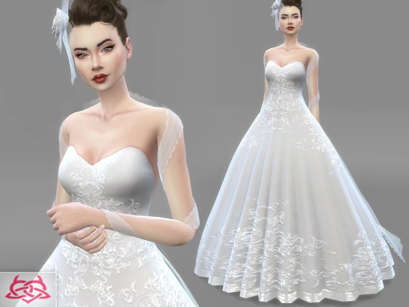 dress - bridal headdress found in tsr category 'sims 4 sets' | sims