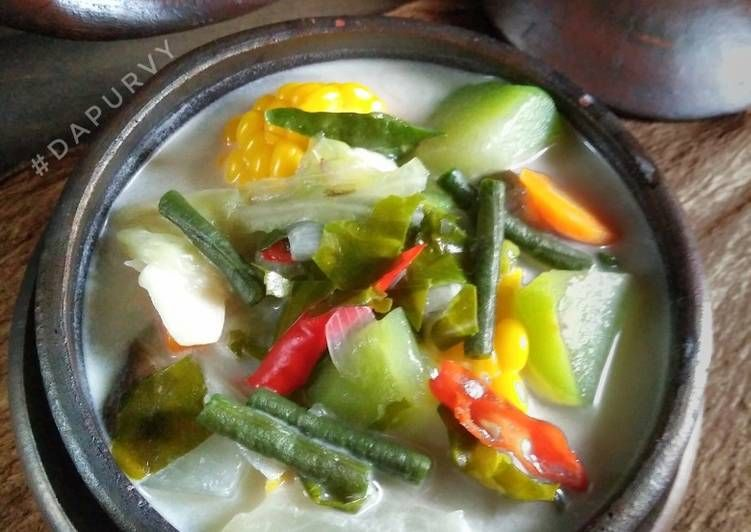 Resep Sayur Lodeh Bumbu Iris Oleh Dapurvy Resep Resep Resep Masakan Masakan