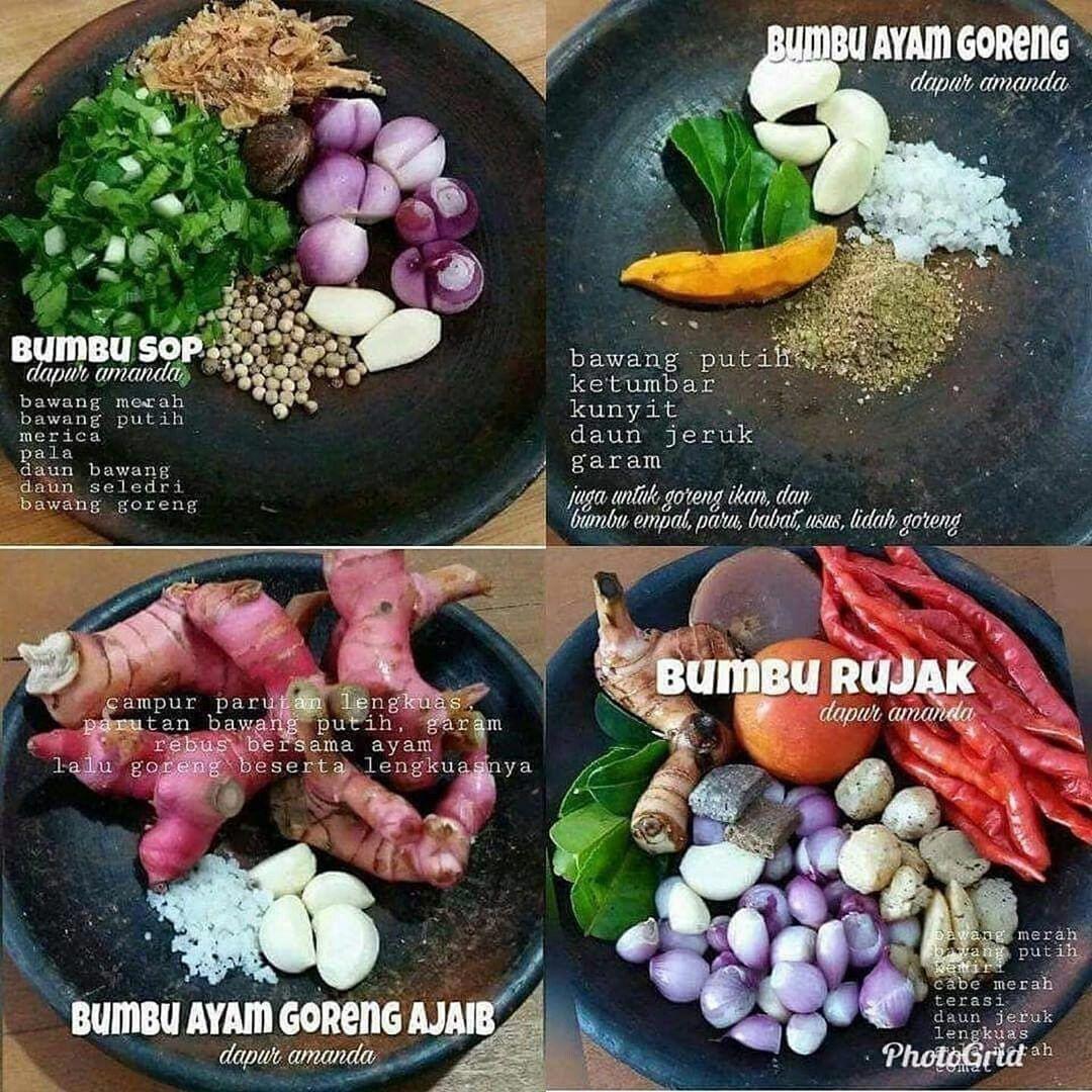 Bumbu Masak Rempah Di 2020 Resep Ide Makanan Resep Masakan