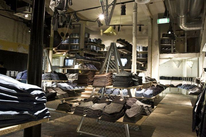 Elegant Cheap Monday Store By Uglycute, Copenhagen Store Design