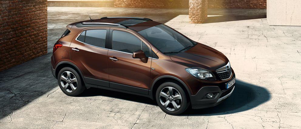 Opel Mokka Exterior Views Opel Mokka Vauxhall Mokka Vauxhall