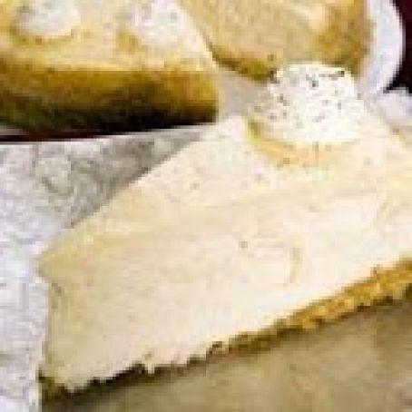 Eggnog Cheesecake III Recipe #eggnogcheesecake