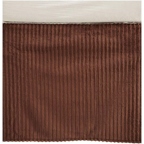 "Carter's Velour Dust Ruffle - Chocolate - Carters - Babies ""R"" Us"