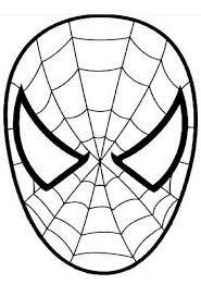 Hayvan Maskeleri Oö Maskeler Spiderman Mask Template Ve
