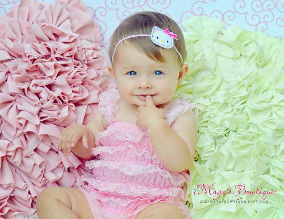 Hello Kitty Inspired Headband - Baby Headband - Newborn Headband ... e19d4d859cd