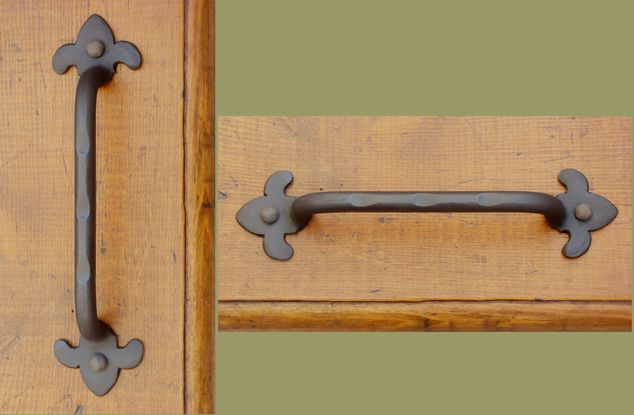 Wrought Iron Drawer Pulls And S Paso Robles Ironworks