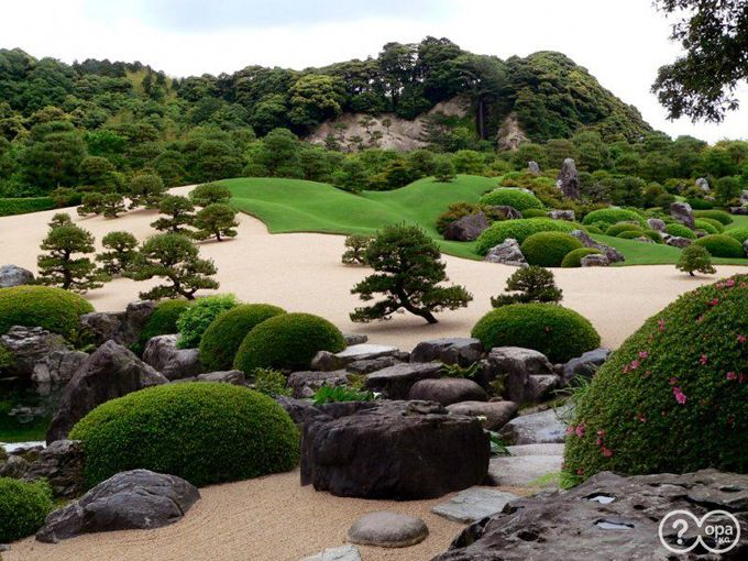 One of the World's most amazing gardens. A part of the Garden at the Adachi Museum of Art.