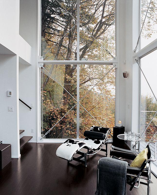 "Interior Design Portland Oregon: ""Aloft In The Forest"" Portland, Oregon (Dwell Magazine"