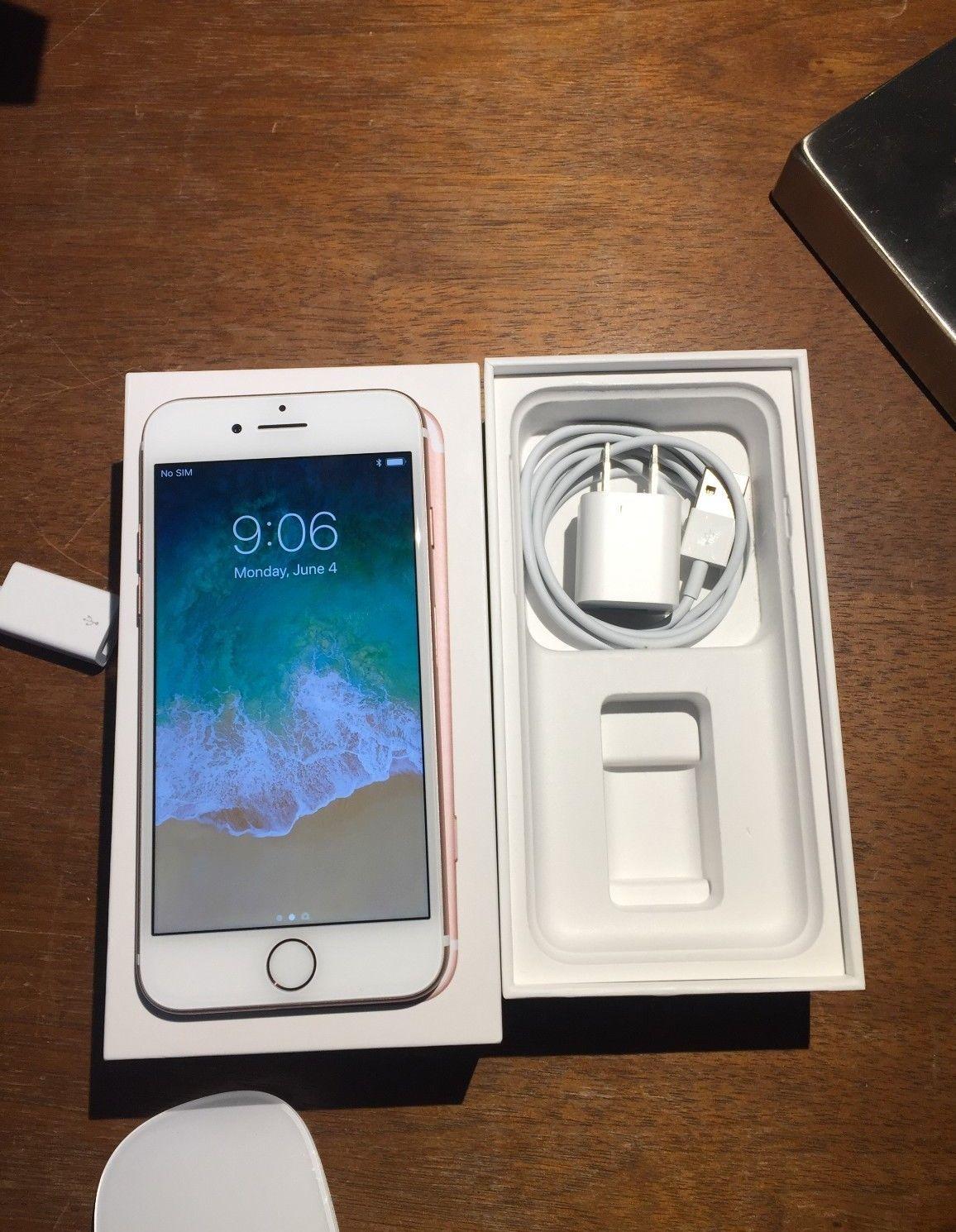 Apple iphone 7 128gb rose gold att a1778 gsm