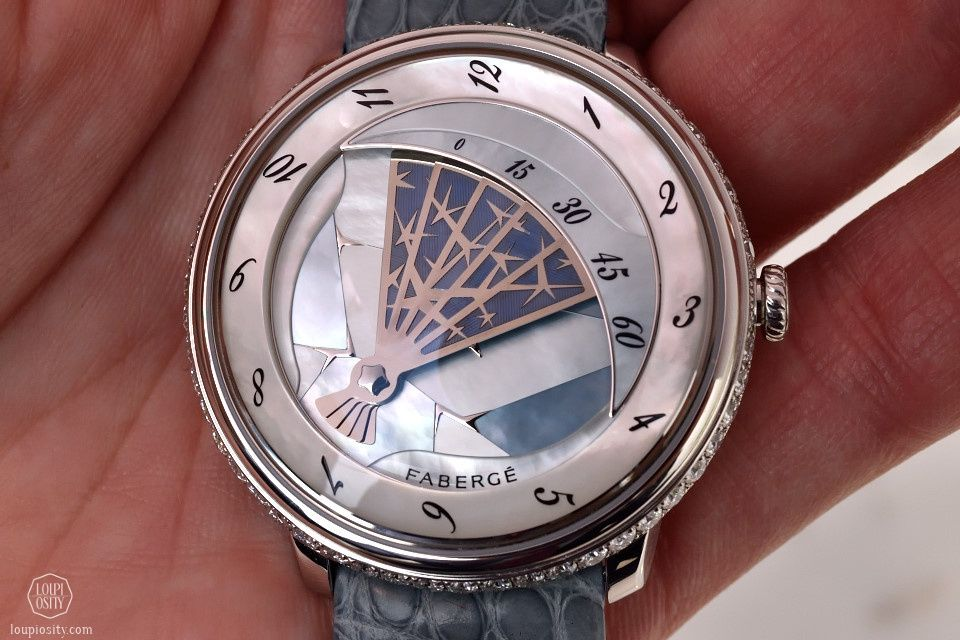 Fabergé Lady Compliquée Winter #Baselworld2015 #Baselworld #finewatchmaking #watches