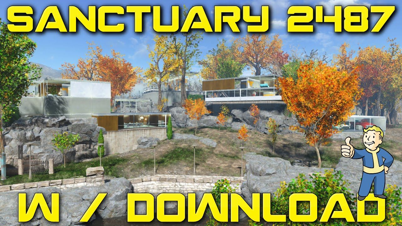 FALLOUT 4 MODDED MAP DOWNLOAD SANCTUARY SETTLEMENT