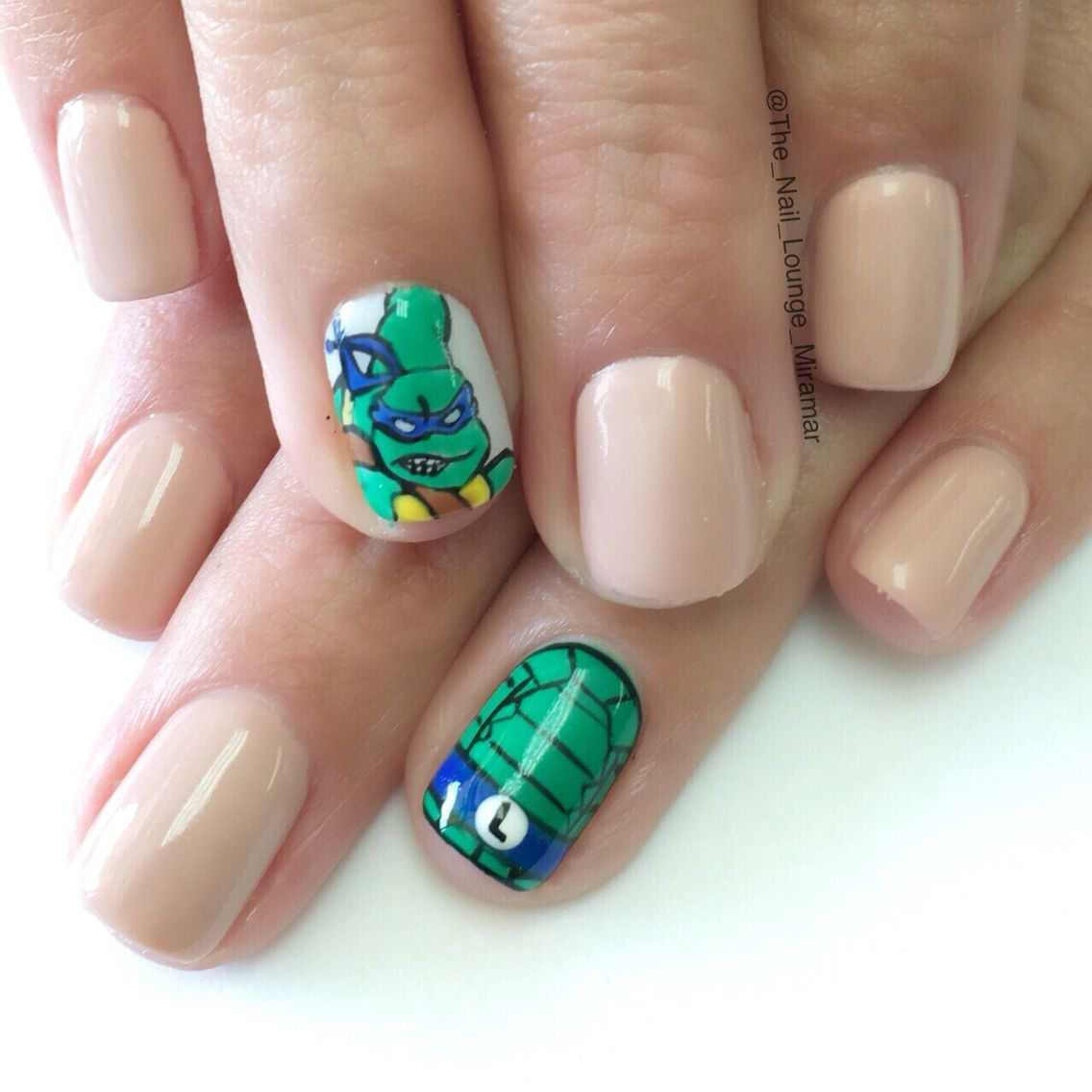 Teenage mutant ninja turtles nail art design | Nail Art | Pinterest ...