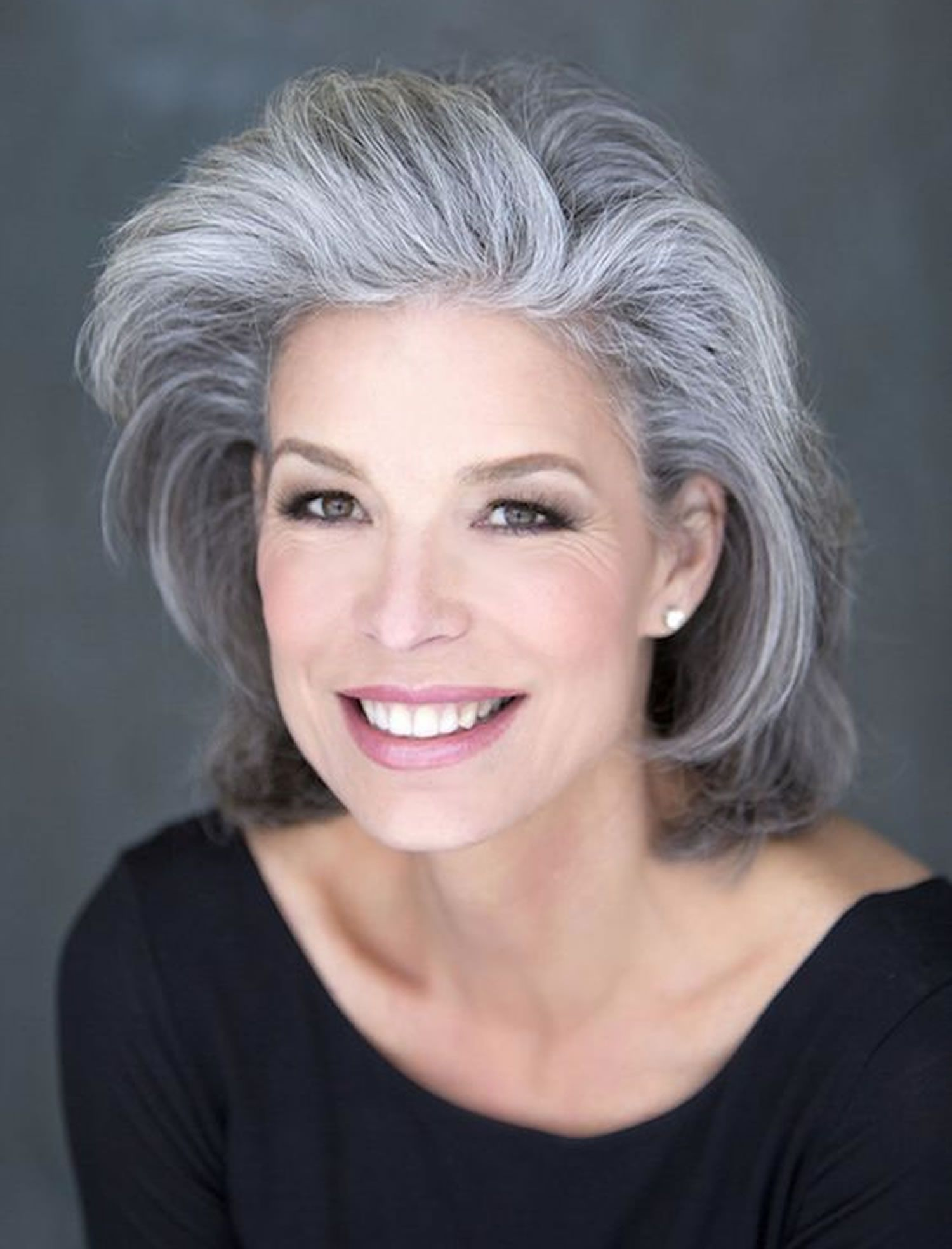 short haircuts for older ladies with fine hair