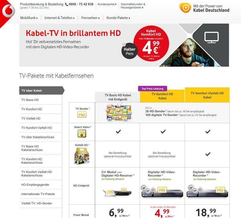 Fernsehen Kaufen Angebot
