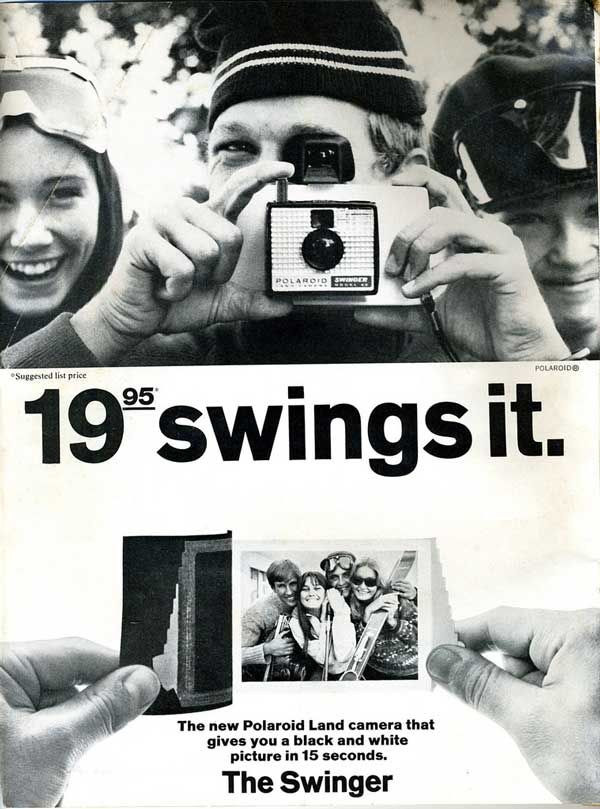 Awesome Vintage Polaroid Ads