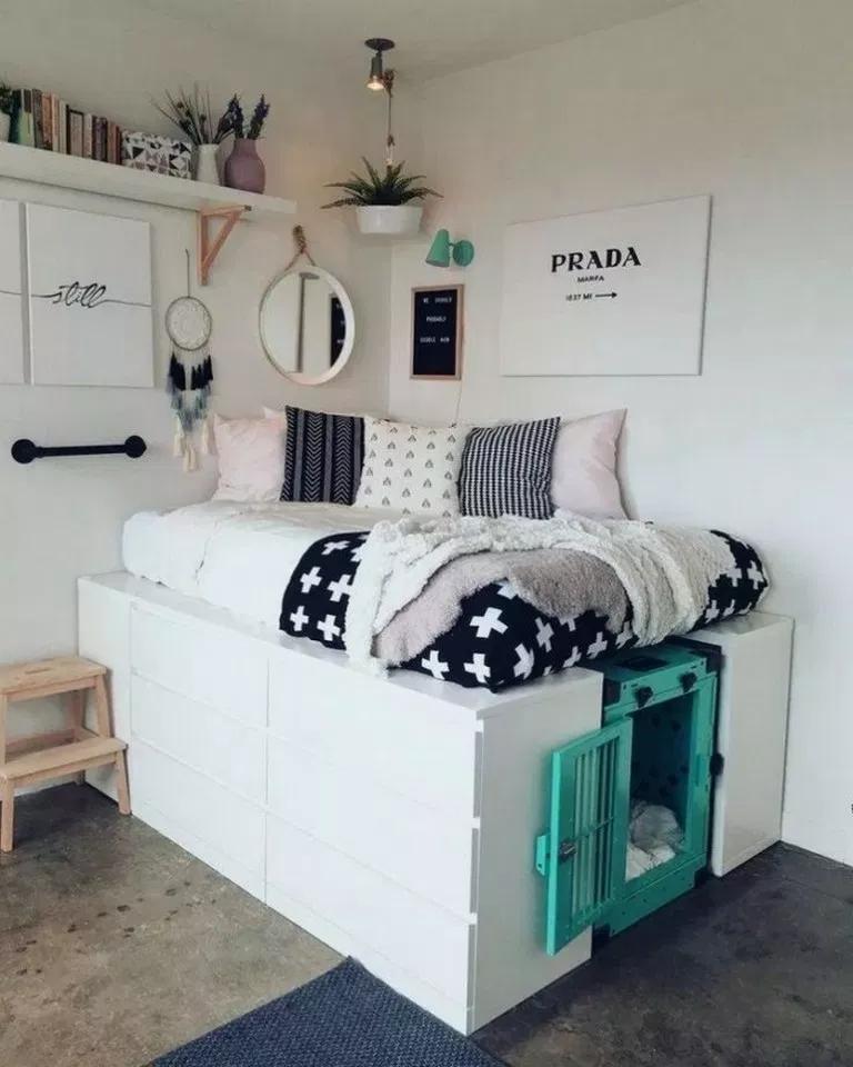 Ikea Dorm Room Ideas: 53 Best Dorm Room Ideas That Will Transform Your Room 19