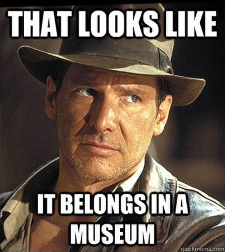 I'd listen to Indiana Jones. Indiana jones, Funny