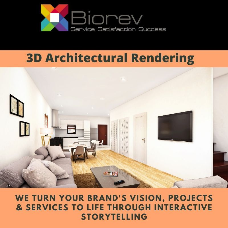 Biorev Provides 3d Rendering Services For Developers
