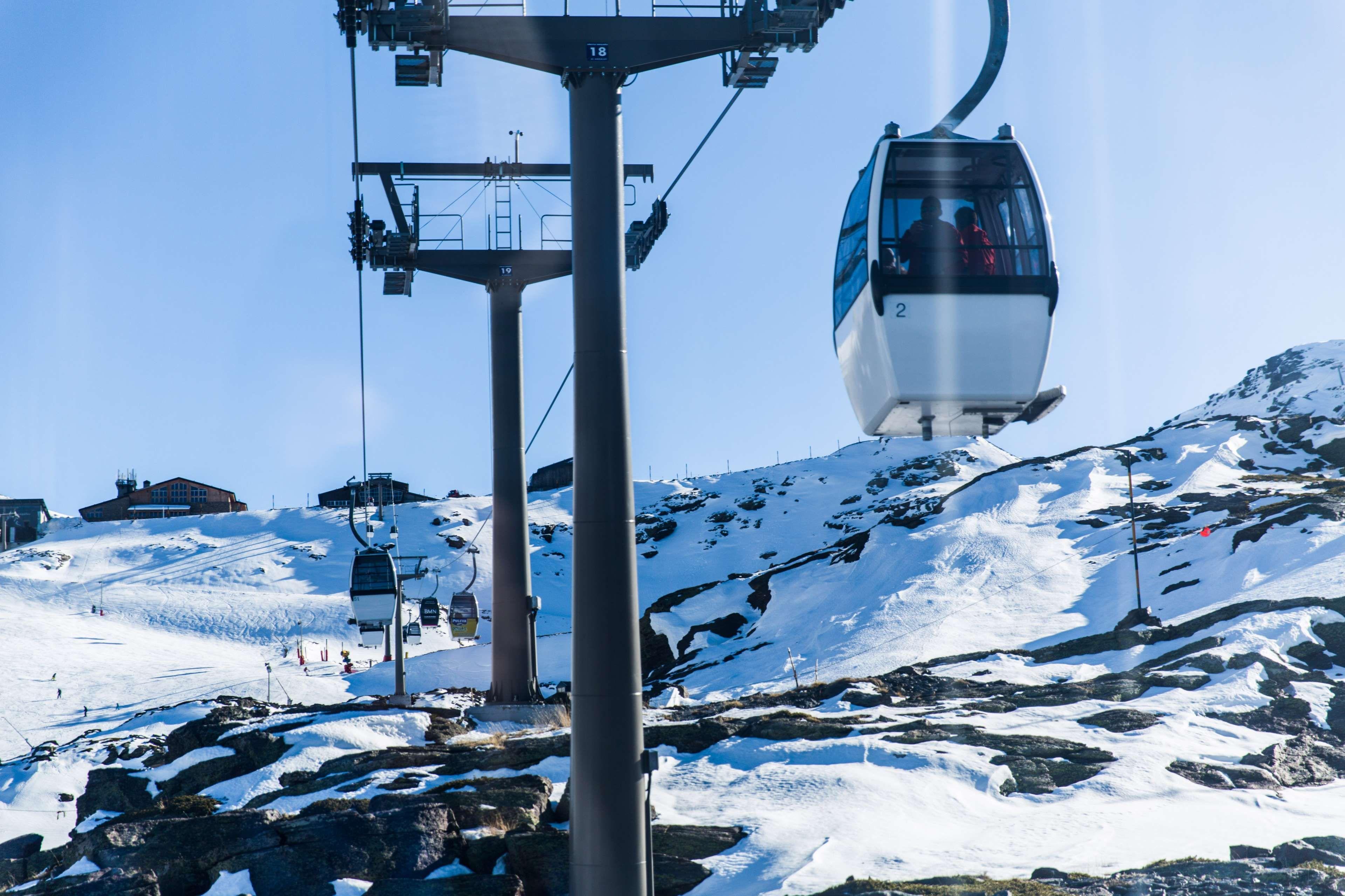 Cable Car Cold Freezing Frost Frozen Ice Landscape Mountain Mountain Peak Outdoors Recreation Resort Scenic Ski Ski Lift Ski Resort Ski Slope