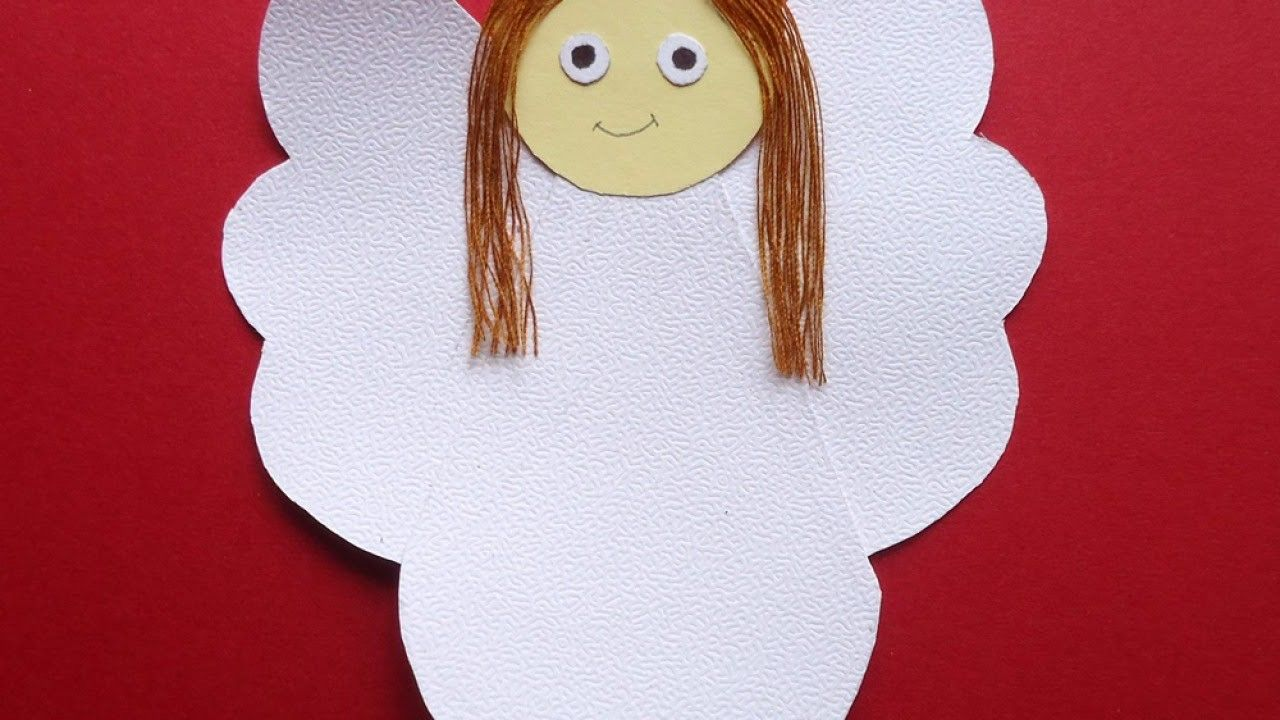 Create a pretty paper angel diy crafts guidecentral paper create a pretty paper angel diy crafts guidecentral jeuxipadfo Images