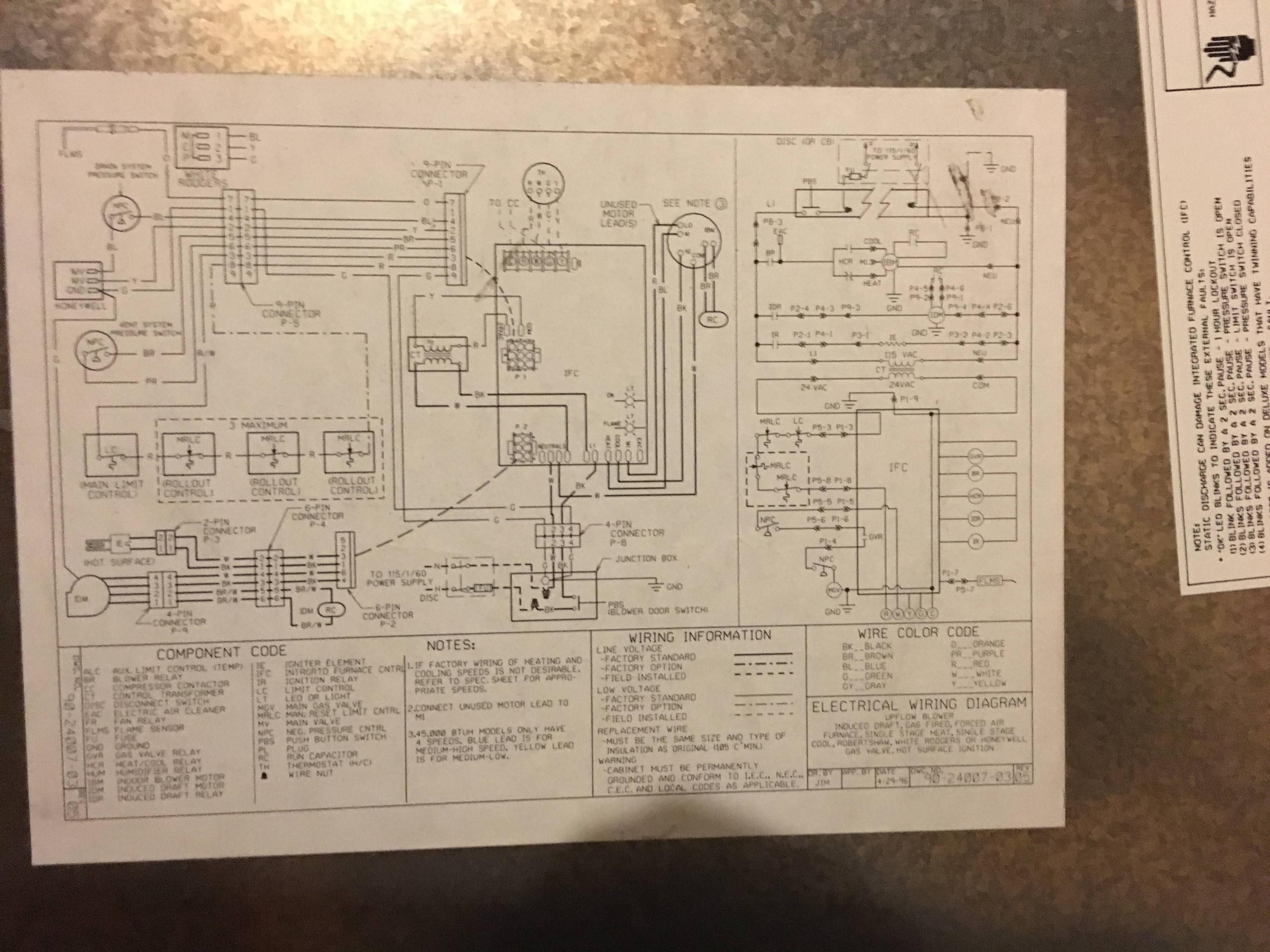 first company air handler wiring diagram question about wiring rh shirogadget com goodman air handler wiring diagrams trane air handler wiring diagrams [ 3078 x 2309 Pixel ]