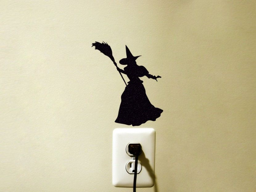 Witches Wizard of Oz Light Switch Vinyl Decal Sticker by FineDecalShop on Etsy & Witches Wizard of Oz Light Switch Vinyl Decal Sticker by ...