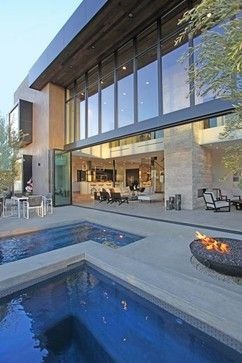 A modern villa on the Sunset Strip by Bowery Design Group