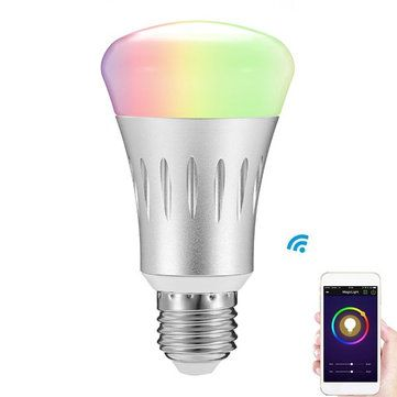 ARILUX® E27 8W RGB + White Dimmable Smart WIFI LED Light ...